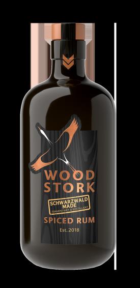 WOOD-STORK SPICED RUM, 0.5 L.;*WINESCOUT7*.DE