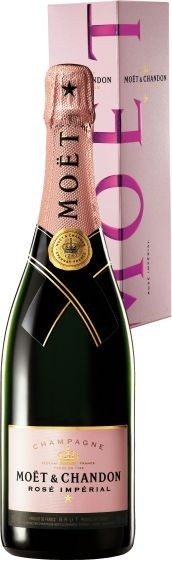 "MOET & CHANDON "" ROSE IMPERIAL IN GESCHENKBOX *, 0.75 L., *WINESCOUT7*, FR-CHAMPAGNE"