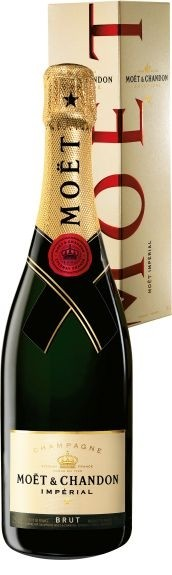 Moet & Chandon BRUT IMPERIAL in Geschenkpackung * WINESCOUT * FR-Champagne